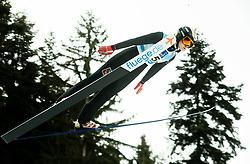 Sofia Tikhonova of Russia competes during Team Competition at Day 2 of World Cup Ski Jumping Ladies Ljubno 2019, on February 9, 2019 in Ljubno ob Savinji, Slovenia. Photo by Matic Ritonja / Sportida