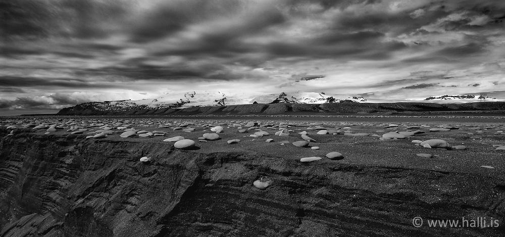 The glacier Vatnajokull, south east Iceland - Vatnajökull