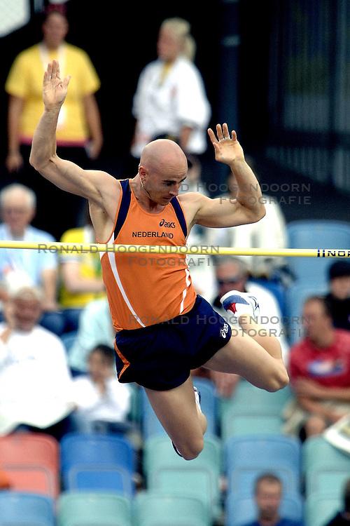 10-08-2006 ATLETIEK: EUROPEES KAMPIOENSSCHAP: GOTHENBORG <br /> Laurens Looije plaatst zich voor de finale<br /> ©2006-WWW.FOTOHOOGENDOORN.NL