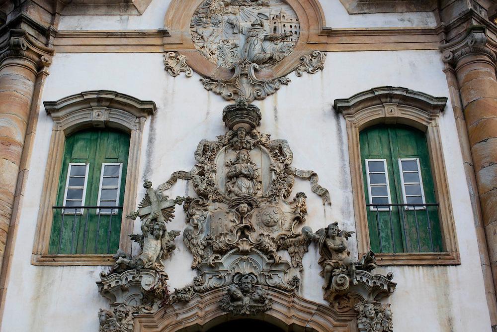 Ouro Preto_MG, Brasil.<br /> <br /> Igreja Sao Francisco de Assis em Ouro Preto, Minas Gerais.<br /> <br /> Sao Francisco de Assis church in Ouro Preto, Minas Gerais.<br /> <br /> Fotos: MARCUS DESIMONI / NITRO