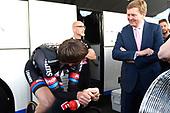 Koning Willem-Alexander aanwezig bij de Giro d'Italia