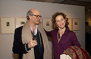 Antoine Laurent and Killoran Howard, Grievous Angels, Vintage Photographs, Patrick Donovan. 9 March 2004. ONE TIME USE ONLY - DO NOT ARCHIVE  © Copyright Photograph by Dafydd Jones 66 Stockwell Park Rd. London SW9 0DA Tel 020 7733 0108 www.dafjones.com