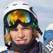 Kai Mahler, Switzerland, after his second place finish in the Men's  Freeski Big Air competition at Cardrona, New Zealand during the Winter Games. Wanaka, New Zealand, 20th August 2011. Photo Tim Clayton