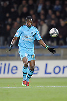FOOTBALL - FRENCH CHAMPIONSHIP 2009/2010  - L1 - FC LORIENT v OLYMPIQUE MARSEILLE - 16/12/2009 - PHOTO PASCAL ALLEE / DPPI - ISMAILA TAIWO (OM)