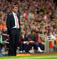 Photo: Ed Godden/Sportsbeat Images.<br /> Arsenal v Sevilla. UEFA Champions League Group H. 19/09/2007. Sevilla Coach, Juande Ramos.