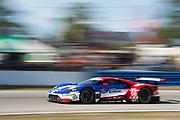March 16-18, 2017: Mobil 1 12 Hours of Sebring. 66 Ford Chip Ganassi Racing, Ford GT, Dirk Mueller, Joey Hand, Sebastien Bourdais