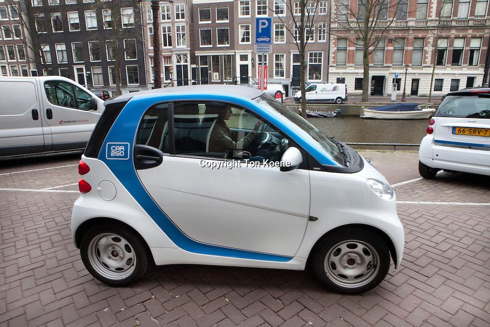 car2go vehicles in Amsterdam
