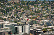 2018 JUNE 19 - Homes on Queen Anne and South Lake Union, Seattle, WA, USA. By Richard Walker