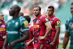 Jamie Roberts of Harlequins looks dejected after the match - Mandatory byline: Patrick Khachfe/JMP - 07966 386802 - 02/09/2017 - RUGBY UNION - Twickenham Stadium - London, England - London Irish v Harlequins - Aviva Premiership