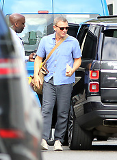 Daniel Craig seen filming James Bond - 30 June 2019