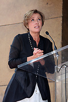 8/5/2010 Emma Thompson speaks to the audience during her Hollywood Walk of Fame ceremony