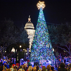 Downtown Austin Alliance Holiday Stroll and Sing-Along at the Texas Capitol  December 5, 2015.