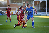 Peterborough United's Jamie Walker (6) attacking during the EFL Sky Bet League 1 match between Peterborough United and Bradford City at The Abax Stadium, Peterborough, England on 17 November 2018.