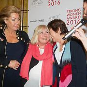NLD/Amsterdam/20160321 - The Strong Woman Award 2016, Betty de Groot, Willeke Alberti, Rita Verdonk, Hind Larussi