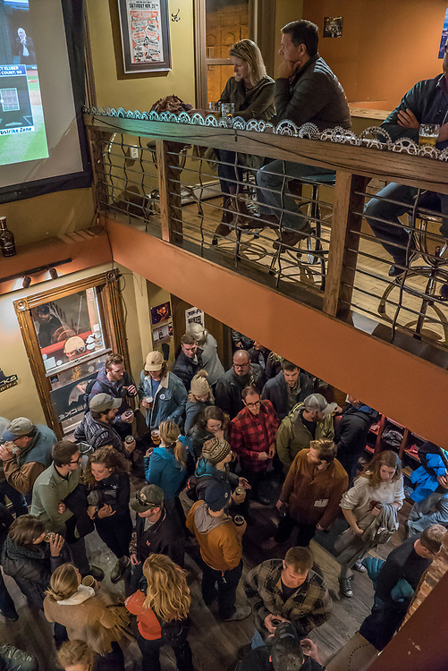 Afterparty at Blackrocks Brewery during Fresh Coast FIlm Festival in Marquette, Michigan.