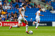 Bournemouth defender Adam Smith (15) in action during the EFL Sky Bet Championship match between Cardiff City and Bournemouth at the Cardiff City Stadium, Cardiff, Wales on 18 September 2021.