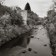 Old Van Sickler Mill, East Branch Housatonic River, Pittsfield, MA