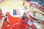 DESCRIZIONE : Pesaro Lega A 2011-12 Scavolini Siviglia Pesaro EA7 Emporio Armani Milano Semifinali Play off gara 3<br /> GIOCATORE : Ioannis Bourousis<br /> CATEGORIA : special tiro schiacciata<br /> SQUADRA : EA7 Emporio Armani Milano<br /> EVENTO : Campionato Lega A 2011-2012 Semifinale Play off gara 3<br /> GARA : Scavolini Siviglia Pesaro EA7 Emporio Armani Milano<br /> DATA : 02/06/2012<br /> SPORT : Pallacanestro <br /> AUTORE : Agenzia Ciamillo-Castoria/GiulioCiamillo<br /> Galleria : Lega Basket A 2011-2012  <br /> Fotonotizia : Pesaro Lega A 2011-12 Scavolini Siviglia Pesaro EA7 Emporio Armani Milano Semifinale Play off gara 3<br /> Predefinita :