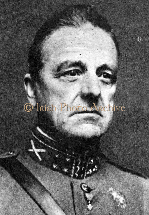 Henri Gerard Winkelman (1876-1952) Dutch army officer, Commander-in-Chief of Dutch forces during the invasion of the Netherlands by Germany.