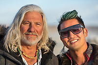 Some of the people who make Burning Man so great.
