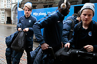 Fotball<br /> Belgia<br /> Foto: PhotoNews/Digitalsport<br /> NORWAY ONLY<br /> <br /> GENT, BELGIUM - MARCH 8 : Sander Boli Berge midfielder of KRC Genk pictured during the arrival of KRC Genk  at the hotel in Gent prior the UEFA Europa League Round of 16 First Leg against KAA Gent at the Ghelamco Arena on March 08, 2017 in Gent, Belgium