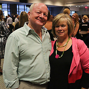 Carl Ward, left, and Debbie Ward pose for a photo Saturday September 20, 2014 during the 4th Annual Care Project Gala at Union Station in Wilmington, N.C. (Jason A. Frizzelle)