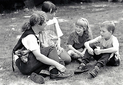 Young family, UK 1995