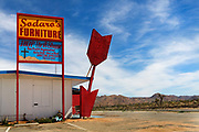 Thrift Shop on highway, Yucca Valley, California.