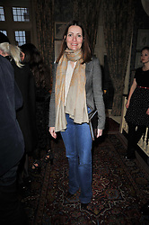PLUM SYKES at a screening of Charlotte Olympia's new film 'To Die For' held at Mark's Club, Charles Street, London W1 on 22nd February 2011.