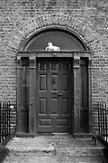 Georgian House on Hendrick St., Dublin