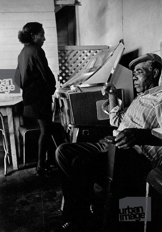 Jukebox at First and Last Bar Port Antonio 1972