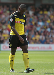 Watford's LLoyd Doyley  - Photo mandatory by-line: Nigel Pitts-Drake/JMP - Tel: Mobile: 07966 386802 25/08/2013 - SPORT - FOOTBALL -Vicarage Road Stadium - Watford -  Watford v Nottingham Forest - Sky Bet Championship