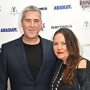 David Austin and guest attends Raindance Film Festival Gay Times Gala screening - George Michael: Freedom (The Director's Cut) London, UK. 4th October 2018.