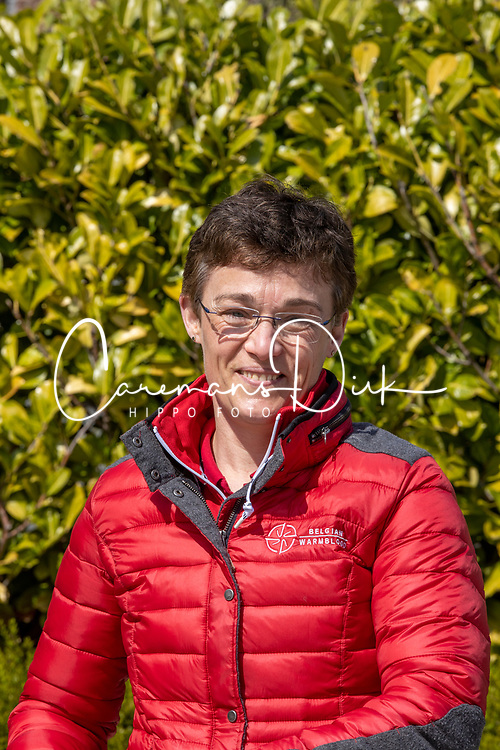 Michiels Martine, BEL<br /> Huldiging BWP hengstenkeuring 2021<br /> Oud Heverlee 2021<br /> © Hippo Foto - Dirk Caremans<br /> 17/04/2021