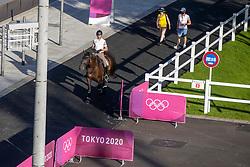 Michiels Domien, BEL, Intermezzo van het Meerdaalhof<br /> Olympic Games Tokyo 2021<br /> © Hippo Foto - Dirk Caremans<br /> 18/07/2021