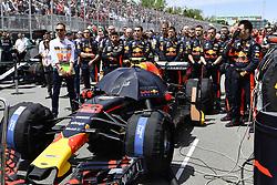 June 10, 2018 - Montreal, Canada - Motorsports: FIA Formula One World Championship 2018, Grand Prix of Canada#33 Max Verstappen (NDL, Red Bull Racing) (Credit Image: © Hoch Zwei via ZUMA Wire)