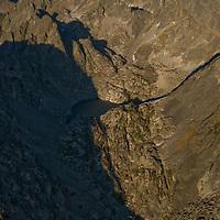 Montana's rugged Absaroka Mountains rise north of Yellowstone National Park in Beartooth-Absaroka Wilderness.
