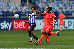 Jacob Murphy of Sheffield Wednesday and Trevoh Chalobah of Huddersfield Town - Mandatory by-line: Daniel Chesterton/JMP - 24/06/2020 - FOOTBALL - Hillsborough - Sheffield, England - Sheffield Wednesday v Huddersfield Town - Sky Bet Championship