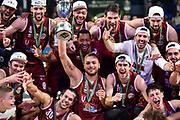 Premiazione Coppa Italia Team Umana Reyer Venezia<br /> Umana Reyer Venezia - Happycasa Brindisi<br /> Finale<br /> LBA Legabasket Serie A Final 8 Coppa Italia 2019-2020<br /> Pesaro, 16/02/2020<br /> Foto L.Canu / Ciamillo-Castoria