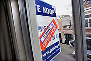 Nederland, Nijmegen, 29-3-2012Een bovenhuis is vanwege de malaise op de woningmarkt al ruim een jaar te koop.Foto: Flip Franssen/Hollandse Hoogte