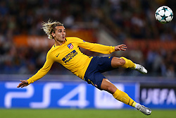 September 12, 2017 - Rome, Italy - Antoine Griezmann of Atletico during the UEFA Champions League Group C football match between AS Roma and Atletico Madrid on September 12, 2017 at the Olympic stadium in Rome, Italy. (Credit Image: © Matteo Ciambelli/NurPhoto via ZUMA Press)