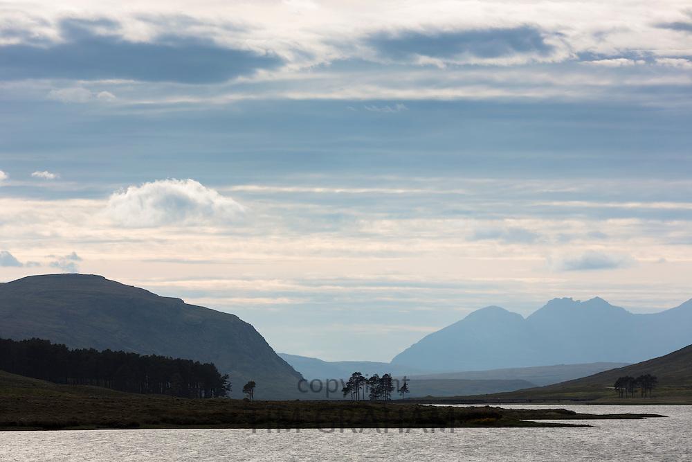 Breathtaking Scottish landscape in the western hIghlands of Scotland