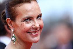 Carole Bouquet attends the 70th Anniversary of the 70th annual Cannes Film Festival at Palais des Festivals on May 23, 2017 in Cannes, France. Photo by Shootpix/ABACAPRESS.COM