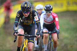 January 5, 2019 - Gullegem, BELGIUM - Dutch Fleur Nagengast pictured in action during the women elite race of the Gullegem Cyclocross, Saturday 05 January 2019 in Gullegem, Belgium. BELGA PHOTO DAVID STOCKMAN (Credit Image: © David Stockman/Belga via ZUMA Press)