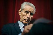 Stefano Rodotà giurista, politico e accademico italiano. Roma 27 novembre 2015. Christian Mantuano / OneShot