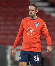 Danny Ings (England) under UEFA Nations League kampen mellem Danmark og England den 8. september 2020 i Parken, København (Foto: Claus Birch).