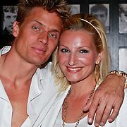 NLD/Amsterdam/20110528 - Toppers in Concert 2011, Winston Post en partner Denise van Rijswijk