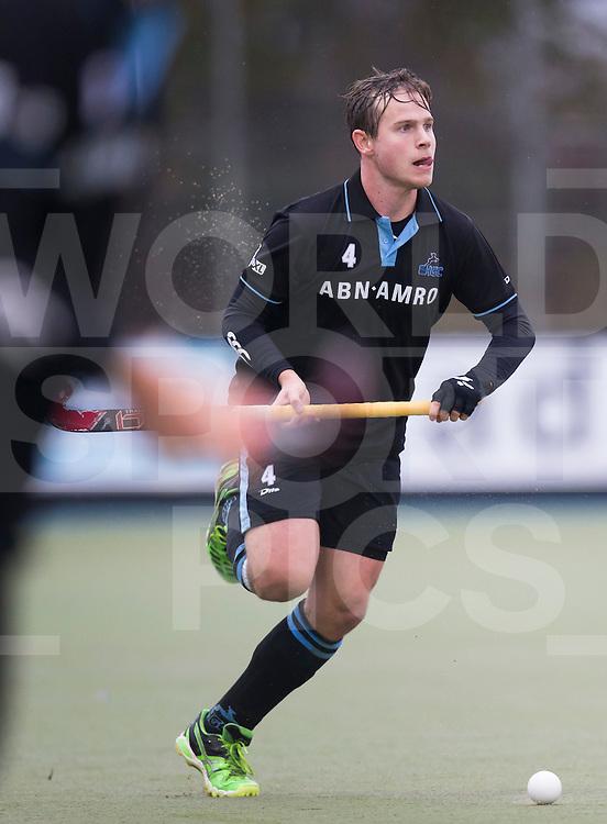 UTRECHT- Hockey -  Willem Rath van HGC   tijdens de hoofdklasse competitiewedstrijd tussen de mannen van Kampong en HGC (2-1).   COPYRIGHT KOEN SUYK