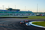 August 17, 2013: Grand Am Kansas.  Justin Wilson<br />    Gustavo YacamanMichael Shank Racing
