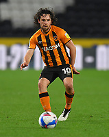 Hull City's George Honeyman<br /> <br /> Photographer Dave Howarth/CameraSport<br /> <br /> The EFL Sky Bet League One - Hull City v Burton Albion - Saturday 14th November 2020 - KCOM Stadium - Kingston upon Hull<br /> <br /> World Copyright © 2020 CameraSport. All rights reserved. 43 Linden Ave. Countesthorpe. Leicester. England. LE8 5PG - Tel: +44 (0) 116 277 4147 - admin@camerasport.com - www.camerasport.com